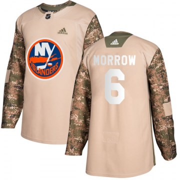 Adidas New York Islanders Men's Ken Morrow Authentic Camo Veterans Day Practice NHL Jersey